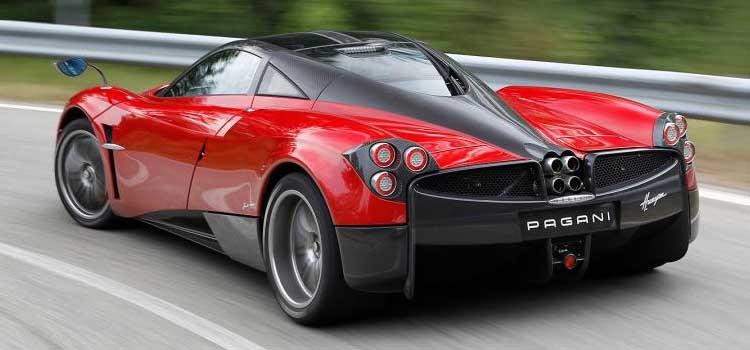pagani huayra - top voitures