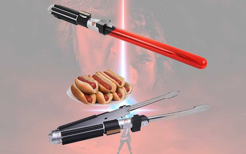 pinces barbecue star wars