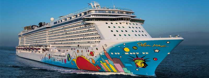 plus grand bateau du monde - norwegian escape - topofthetop