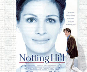 film de lover - coup de foudre à notting hill