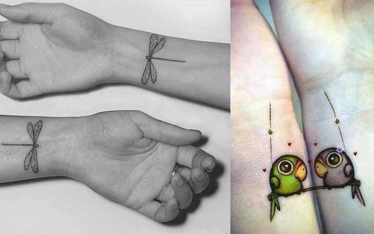 animaux tatouage amitié