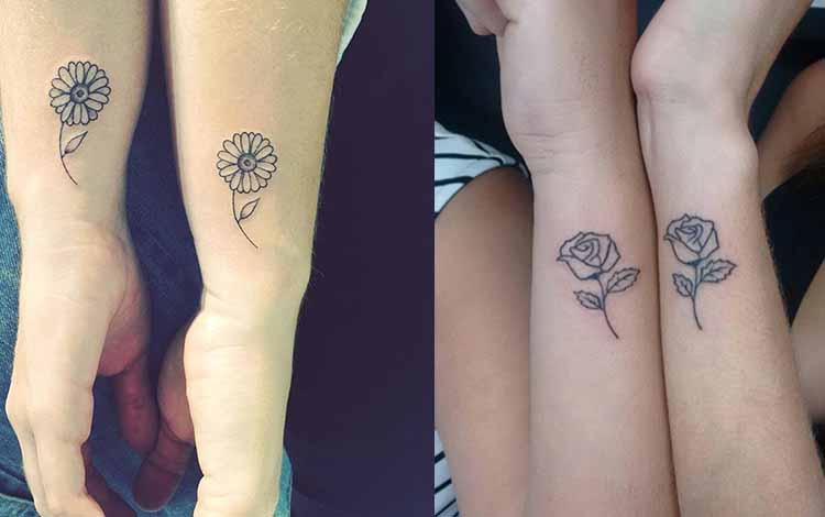 fleur tatouage amitié