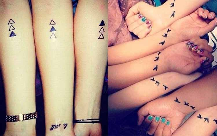 symbole tatouage amitié