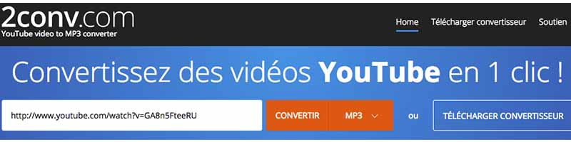 convertisseur youtube mp3